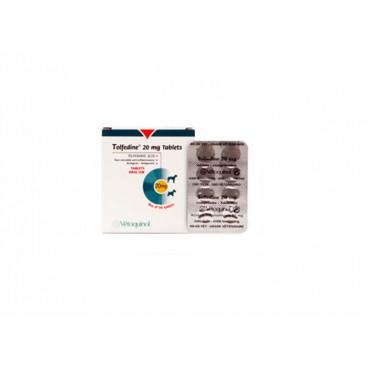 Tolfedine 20 mg 8 comprimate antiinflamator nesteroidian pentru caini