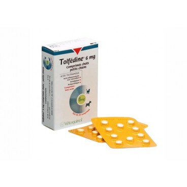 Tolfedine 6 mg 20 comprimate antiinflamator nesteroidian pentru caini