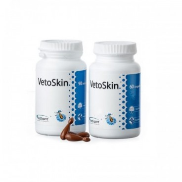 VETOSKIN 300MG - 60 CAPSULE TWIST OFF
