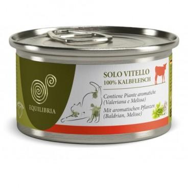 EQUILIBRIA Cat - 100% carne de VITEL- conserva 85 g
