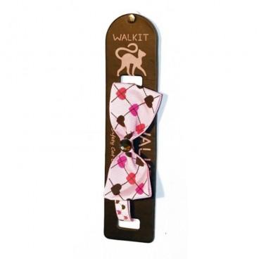Walkit Zgarda pisica cu funda roz (S) 1 x 32 cm
