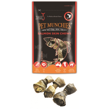 Pet Munchies Piele Somon 90 gr