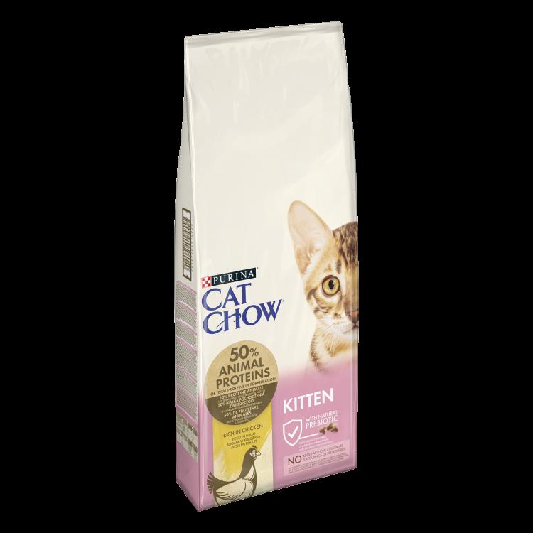 Cat Chow Kitten, Pui