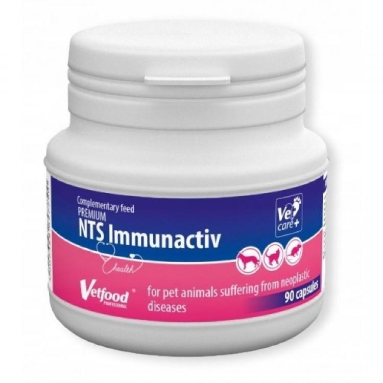 VetFood-NTS Diet Immunactiv Anticahectic, 90 capsule