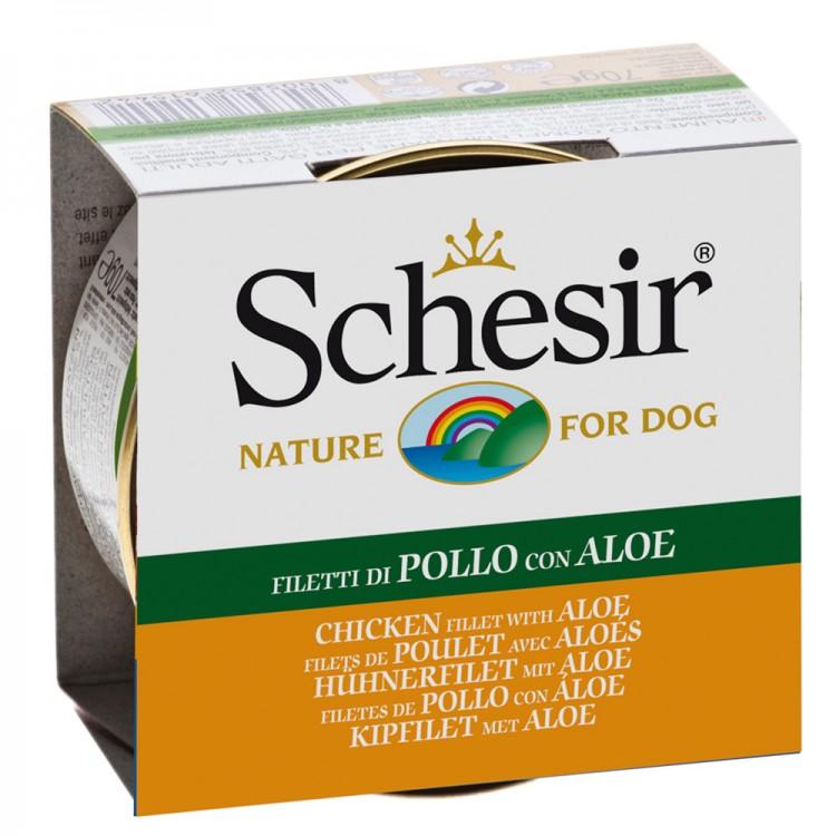 SCHESIR DOG  PUI/ALOE 150GR.
