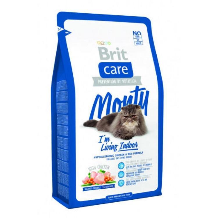Brit Care Cat Monty Living Indoor, 7 Kg