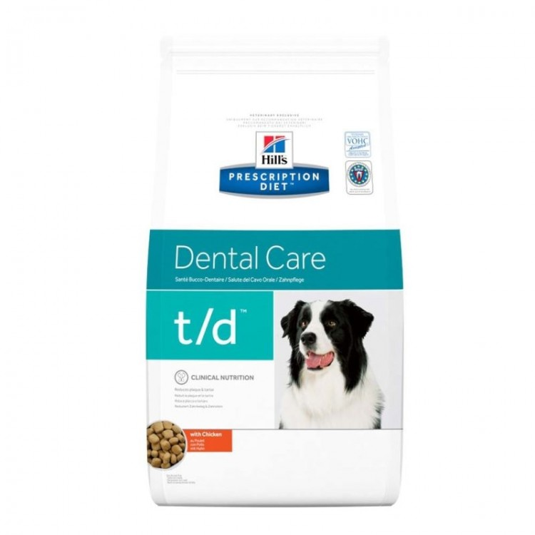 Hill's PD t/d Dental Care hrana pentru caini 10 kg