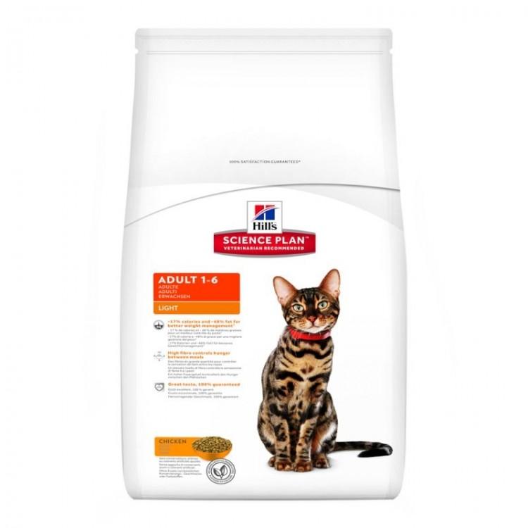 Hill's SP Adult Light hrana pentru pisici cu pui 10 kg