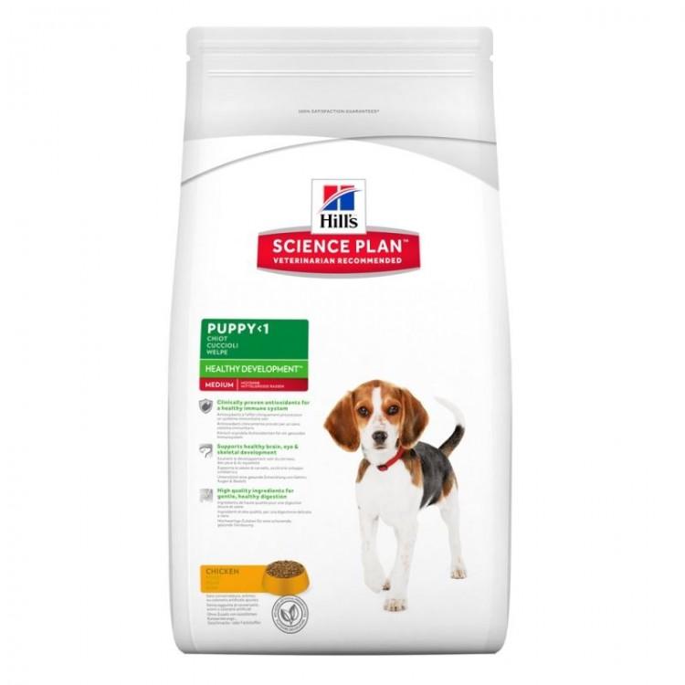 Hill's SP Puppy Healthy Development Medium hrana pentru caini cu pui 3 kg