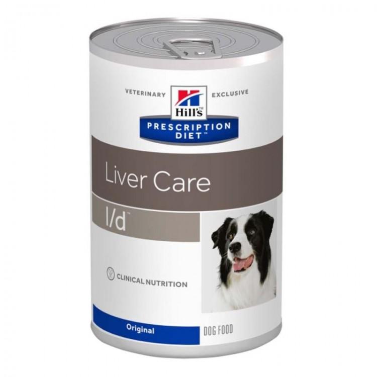 Hill's PD l/d Liver Care hrana pentru caini 370 g