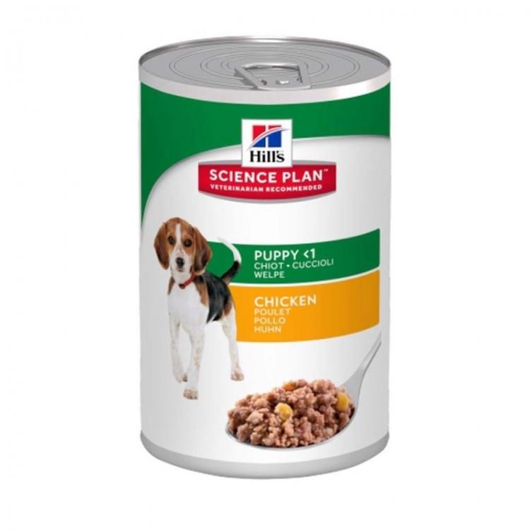 Hill's SP Puppy hrana pentru caini cu pui 370 g