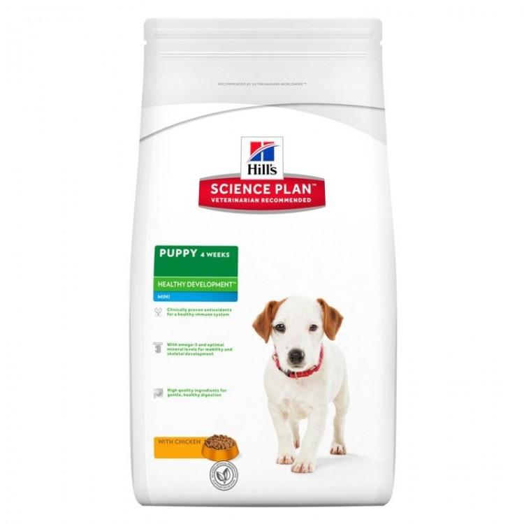 Hill's SP Puppy Healthy Development Mini hrana pentru caini cu pui 7.5 kg
