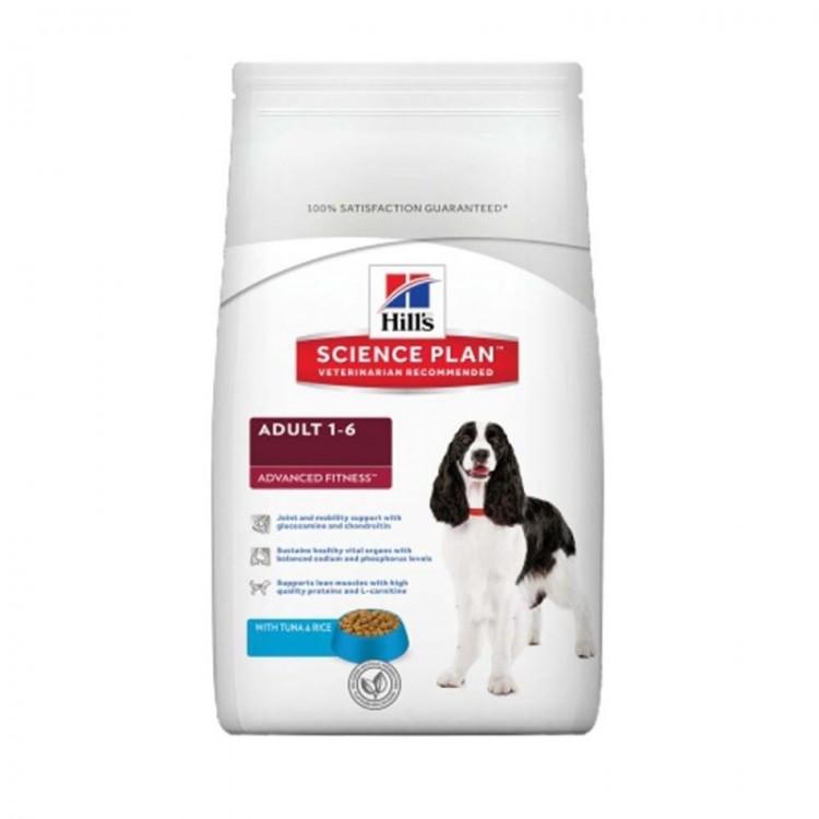Hill's SP Adult Advanced Fitness hrana pentru caini cu ton si orez 12 kg