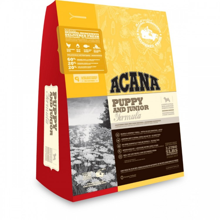 Acana Dog Puppy Junior Medium 18 kg