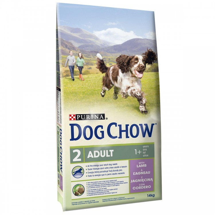 Dog Chow Adult Lamb 14 Kg