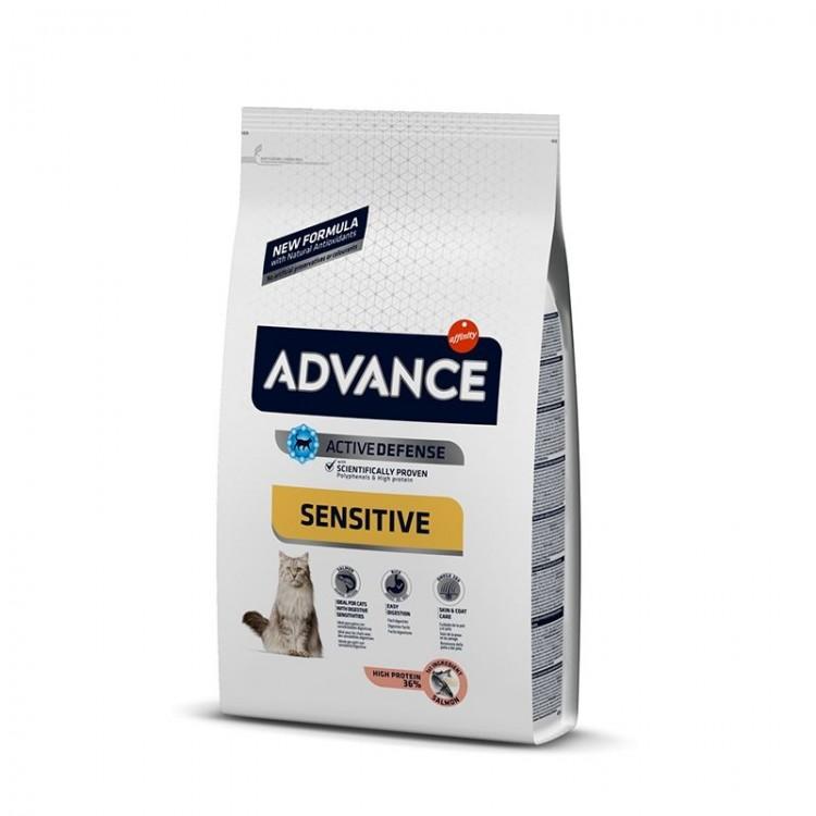 Advance Cat Adult Somon Sensitive, 10 kg