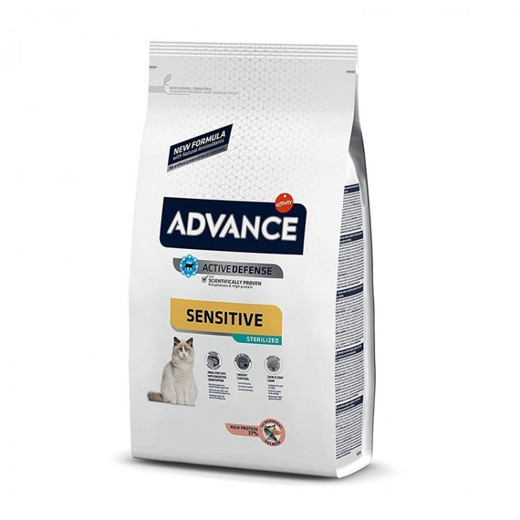 Advance Cat Sterilised Somon Sensitive, 1.5 kg