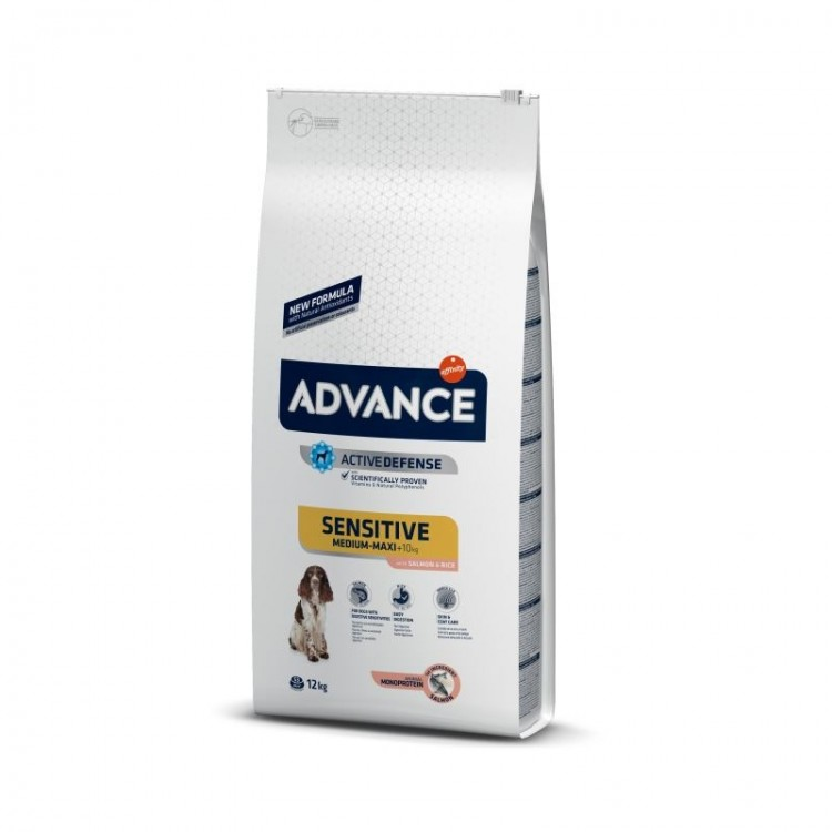 Advance Dog Sensitive Medium - Maxi Somon & Orez