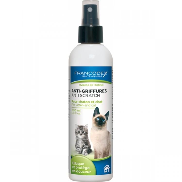 Spray Francodex Pisica Anti-Zgariat 200 ml