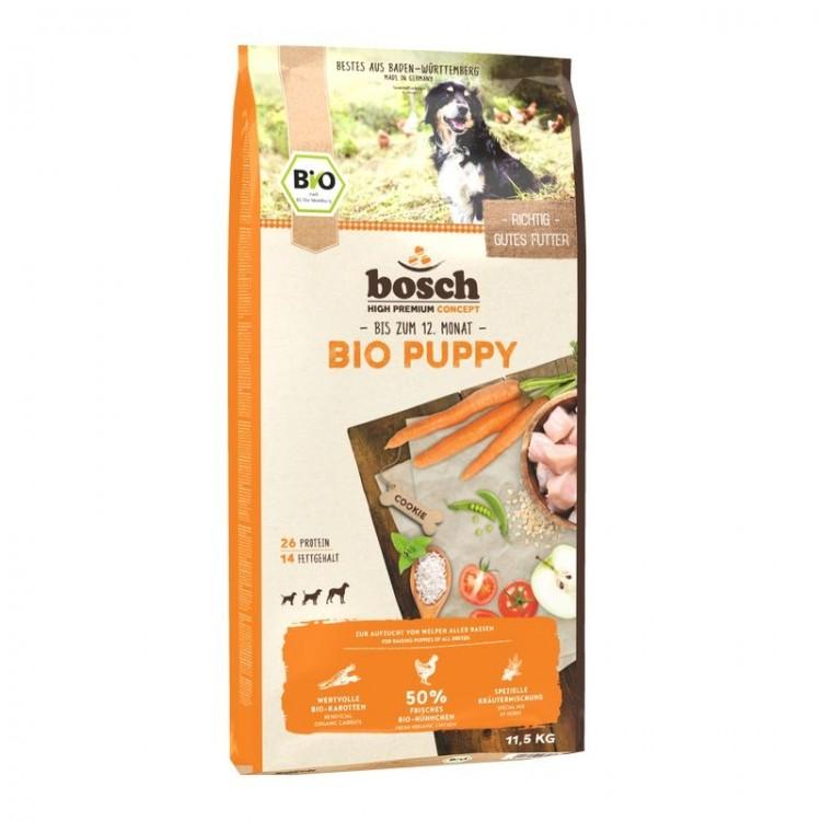 Bosch BIO PUPPY + Morcovi 11,5 kg