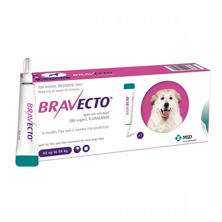 Bravecto spot on (40-56 kg) 1 pipeta