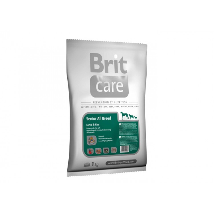 Brit Care Grain-free Senior Salmon and Potato, 12 kg