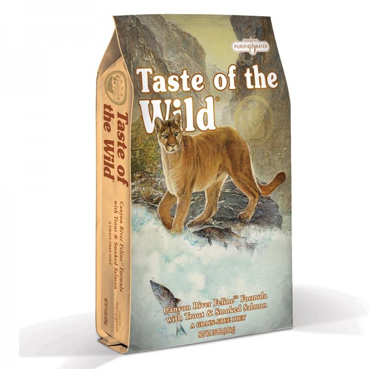 Taste of the Wild Cat Canyon River Formula 6,6 kg