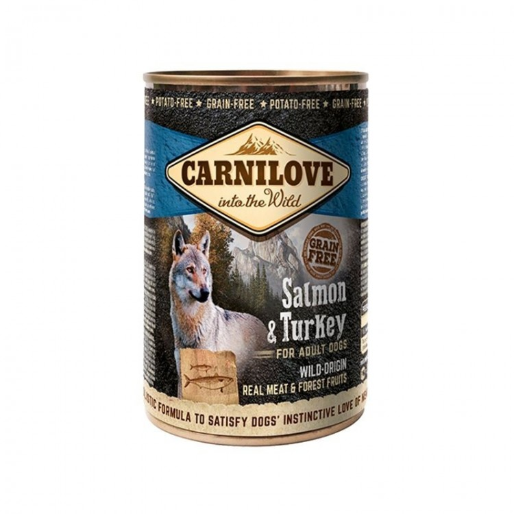 Carnilove Wild Meat Salmon and Turkey, 400 g