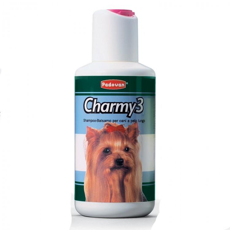 Sampon Charmy 3 250 ml - caini blana lunga