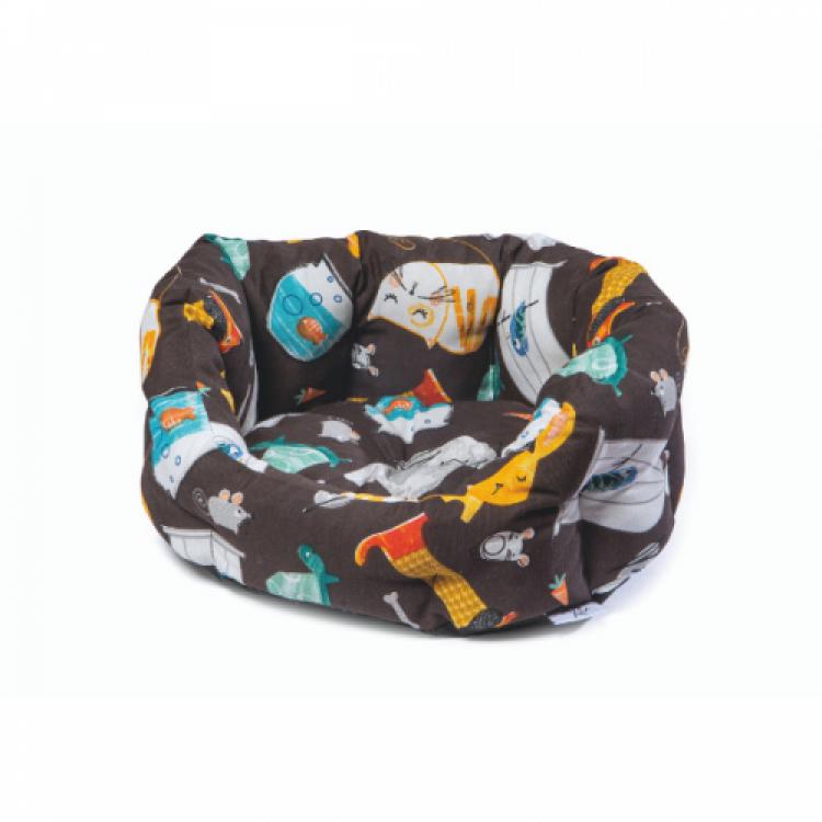 Culcus pentru caini Santorini, 55 cm