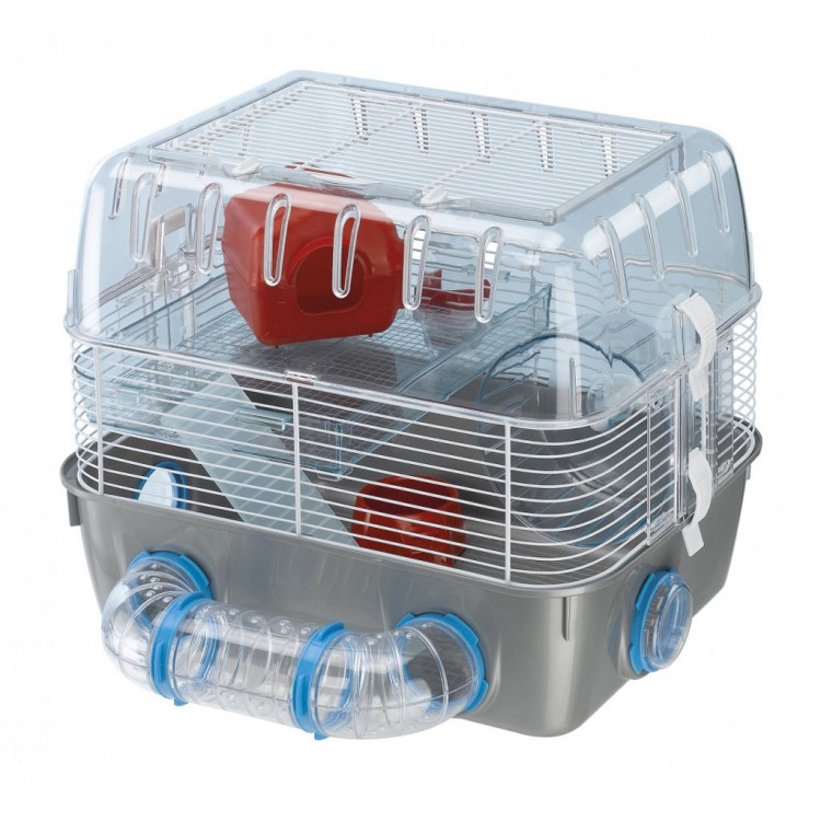 Cusca Hamster Combi Fun, 2 etaje, 40 x 29 x 32 cm