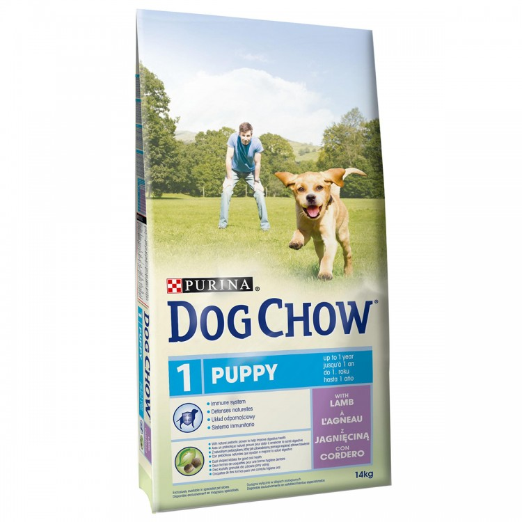 Dog Chow Puppy Lamb 14 Kg