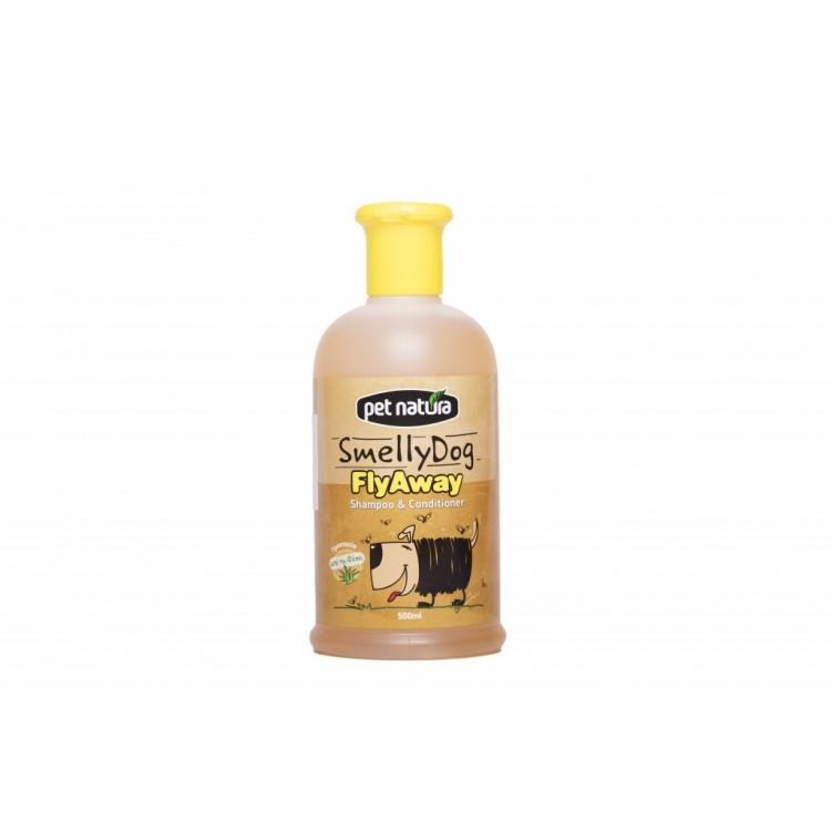 Sampon Smelly Dog Plus Balsam FlyAway, 500 ml