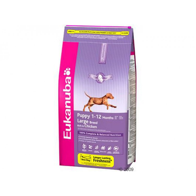 Eukanuba Puppy Large Breed - Pui 15 Kg
