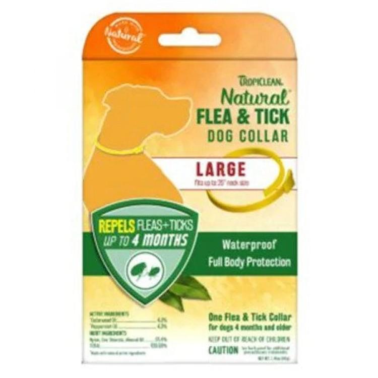 Zgarda antiparazitara, Tropiclean Flea & Tick Large