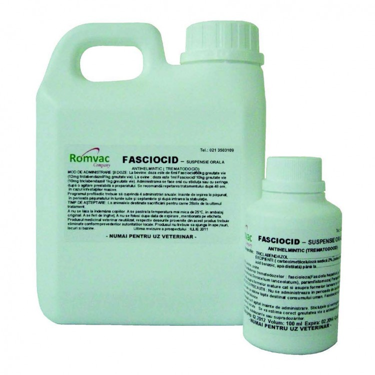 FASCIOCID Suspensie orala 100 ml