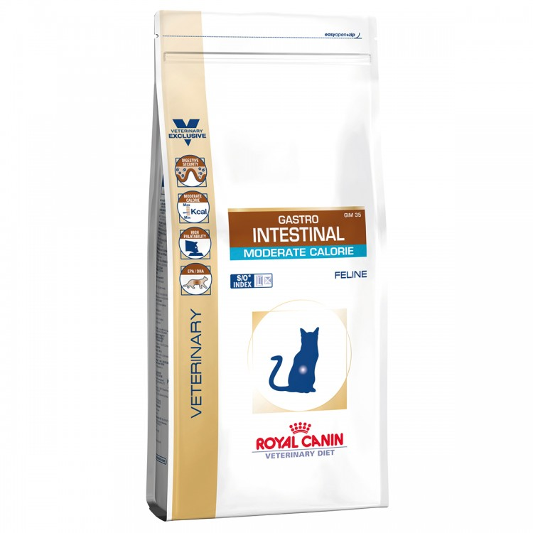Royal Canin Gastro Intestinal Moderate Calorie Cat 4kg