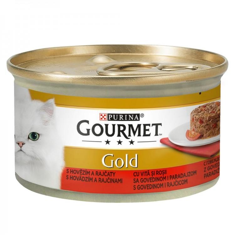 Gourmet Gold Savoury Cake, Vita si Rosii, 85 g