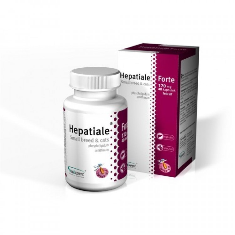 HEPATIALE FORTE SMALL & CATS 170 MG - 40 CAPSULE TWIST OFF