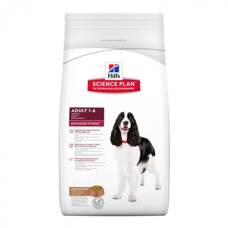 Hill's SP Adult Advanced Fitness hrana pentru caini cu miel si orez 3 kg