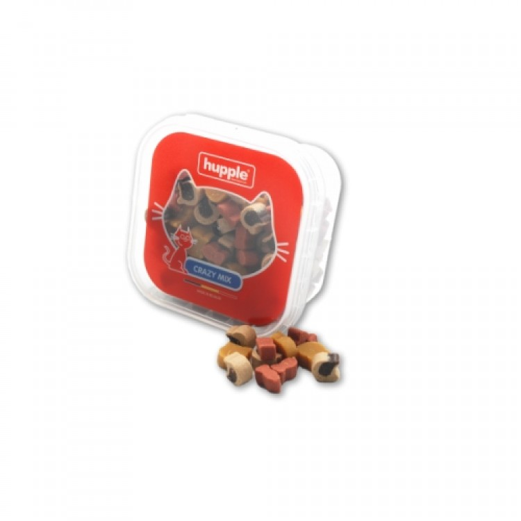 Recompense pisici, Hupple Cat Softy Crazy Mix, 80 g