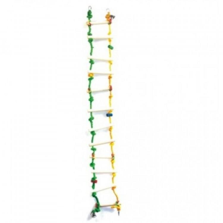 Jucarie pentru pasari mari, Leagan cu Scarita, 100x15 cm