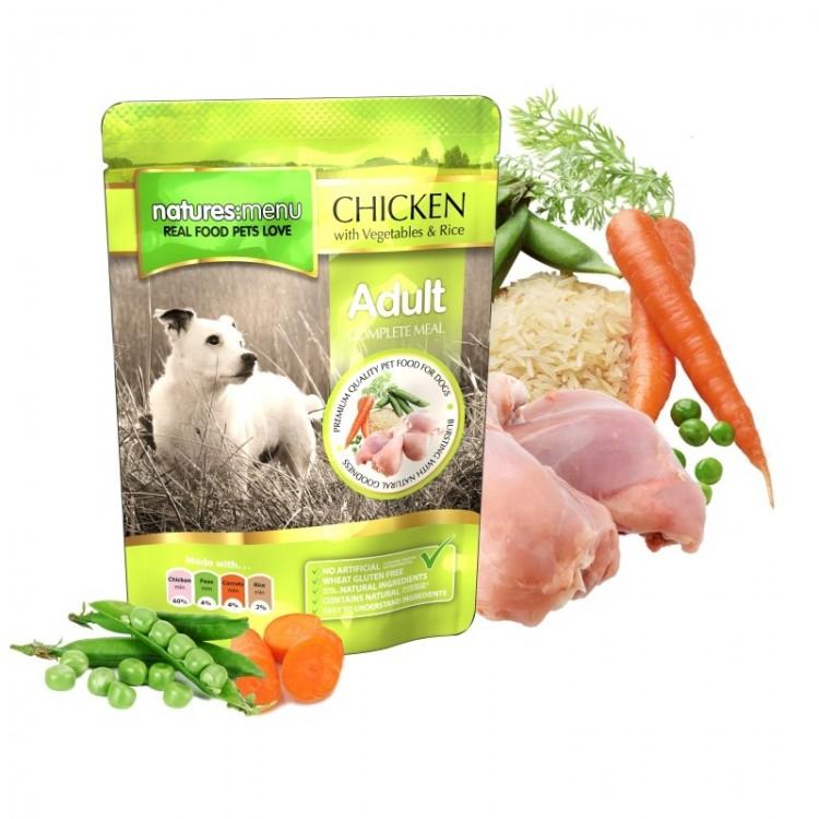 Natures Menu Dog Adult Chicken, 300 g