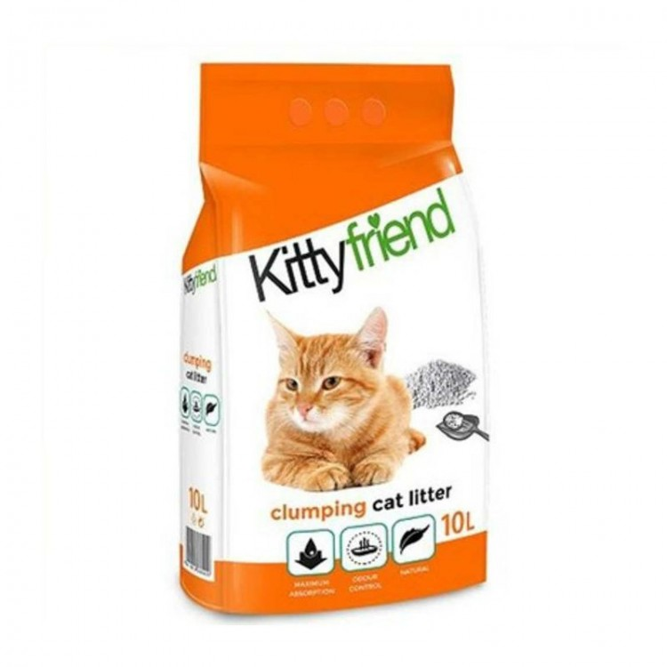 Nisip Kittyfriend Clumping,10 l