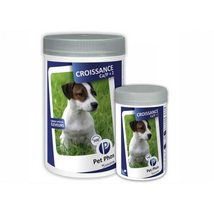 Pet Phos Croissance Ca/P= 2 100 Tablete