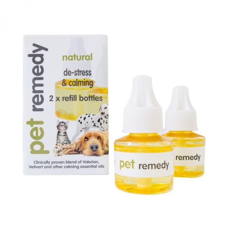 PET REMEDY Refill Diffuser, 2 x 40 ml