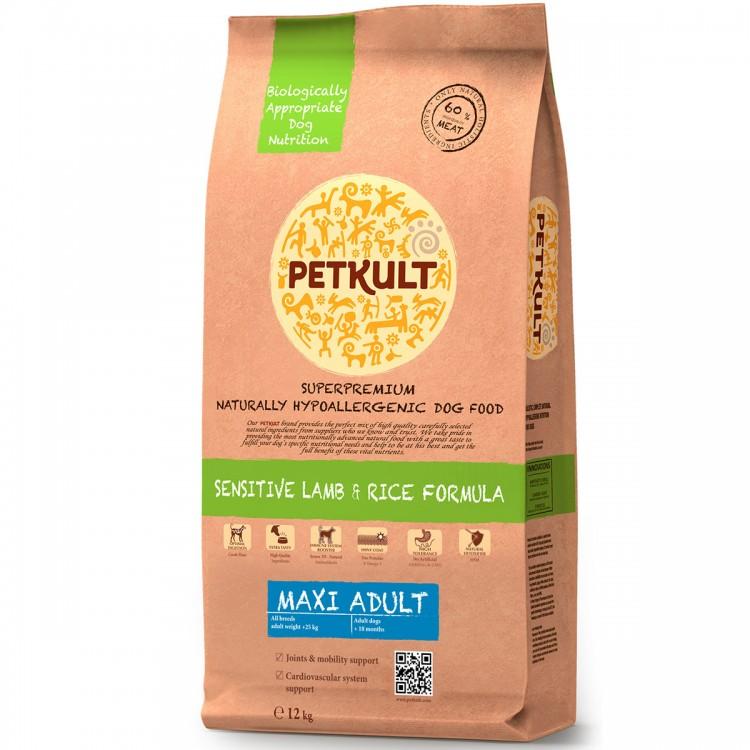 Petkult Maxi Adult Sensitive Miel&Orez 12kg