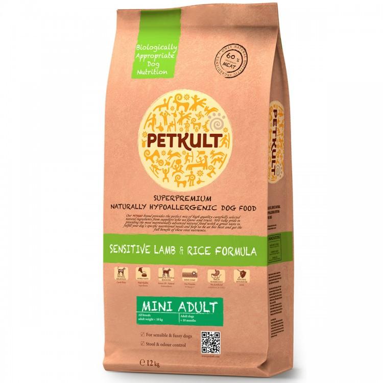 Petkult Mini Adult Sensitive Miel&Orez 12kg