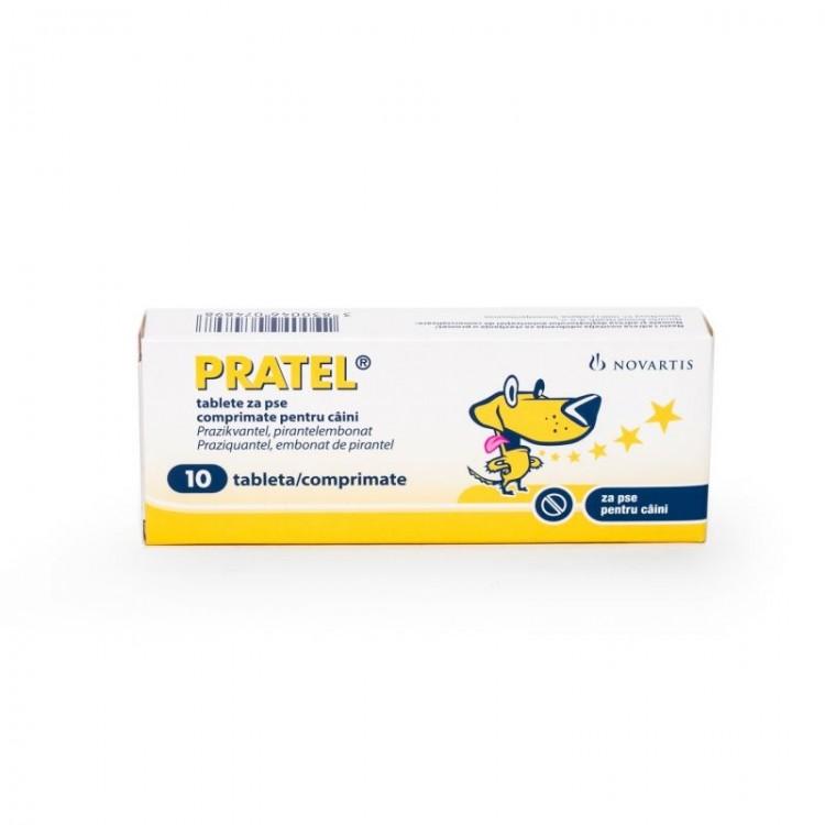 Pratel, antiparazitar intern, 10 comprimate