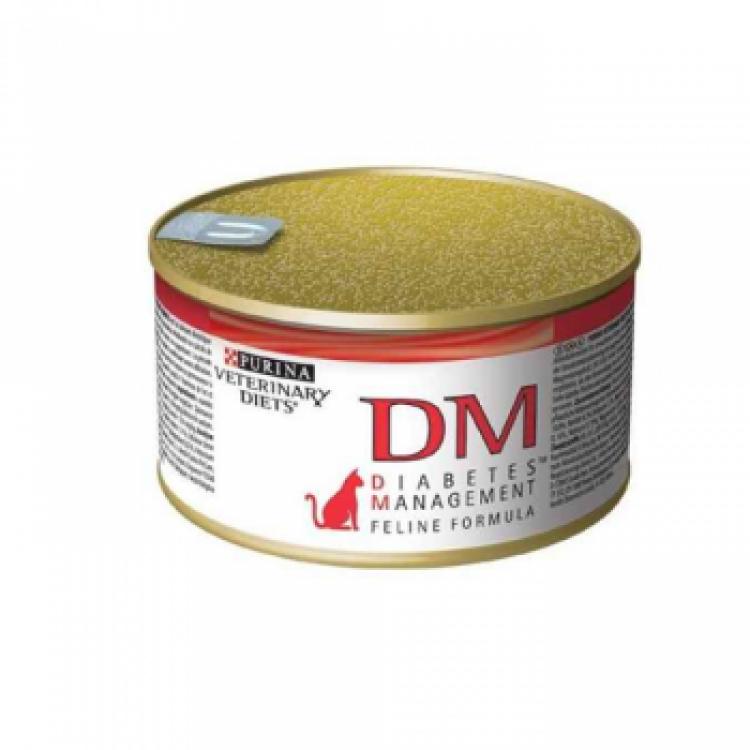 Purina Veterinary Diets DM Cat - Dieta pentru Diabet 195 g